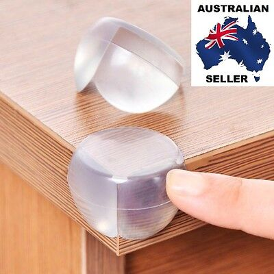 12 Pieces Table Safety Guard Desk Edge Corner Protectors For Baby And Child