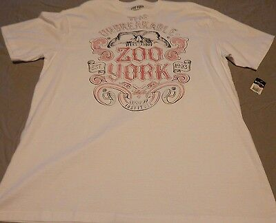 Zoo York Men's Size XL T-Shirt NWT!!! New With Tags!!! White  Skate SK8