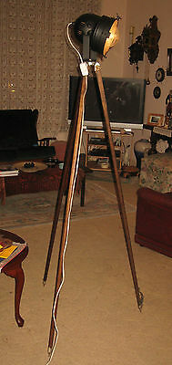 An Original Timber Surveyor's Tripod
