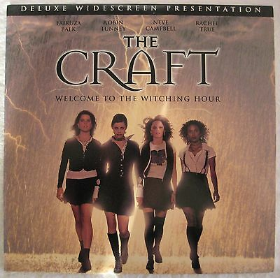 LASERDISC The Craft - Cover Good & Disc is Good to VG
