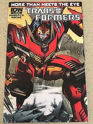 TRANSFORMERS MORE THAN MEETS THE EYE #1 Wraparound Gatefold Foil 1:10 RI Variant