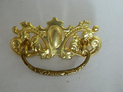 """Ornate Brass  Furniture  Cabinet Draw Pulls, Knobs 5"""" W Victorian 3 Available"""