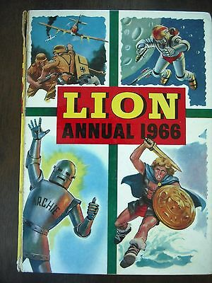 Lion Annual 1966 - Fleetway Publications 1965