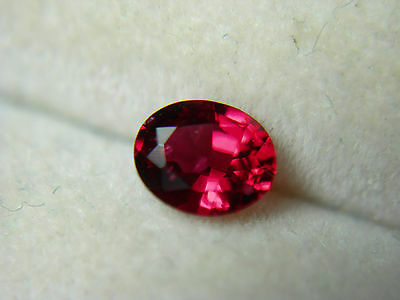 rare fire Red Spinel Gem Natural Gemstone untreated FLUORESCENT Mogok Burma rs41