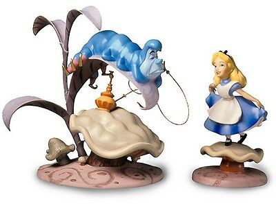 Walt Disney Classics Collection Caterpillar and Alice MIB COA