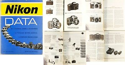 Nikon Data, Book, information on Nikon range of cameras 1990