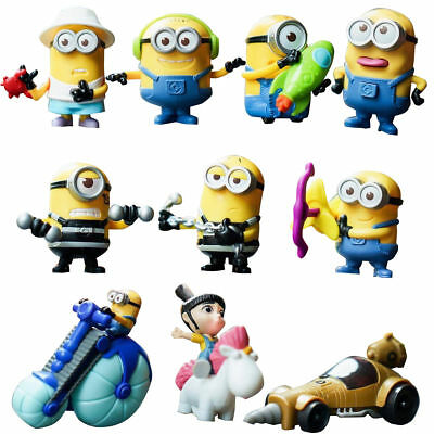 McDonald's Happy Meal Toy 2017 DESPICABLE ME 3 Asia NEW Choose Your Own Minion