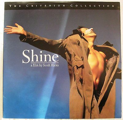 LASERDISC Shine (Criterion Edition) - Cover Good & Disc is Good to VG