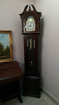 3 Weight Driven English Grandmother Clock Hermle Westminster Chimes