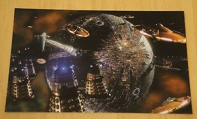 Doctor Who Printed Postcard ~ The Darlek Crucible ~ New