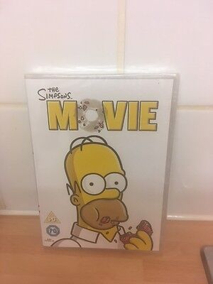 THE SIMPSONS MOVIE DVD - NEW & SEALED - 99p!!