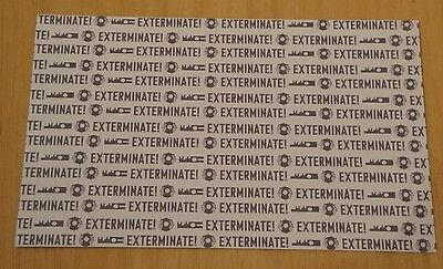 Doctor Who Printed Postcard ~ The Darlek Battle Cry 'exterminate' ~ New