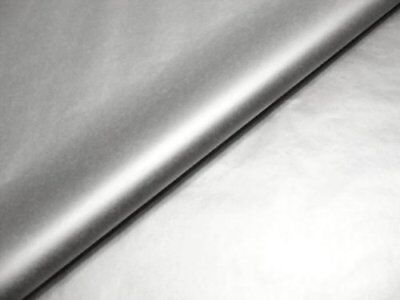 50 x Metallic Silver Tissue Paper / Gift Wrap / Wrapping Paper Sheets (20 x 30)