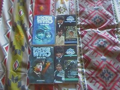 Dr Who Missing Adventures x4 incl  Troughton Twilight of the gods etc