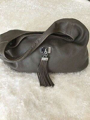 Pierre Cardin Leather Hobo Shoulder Bag