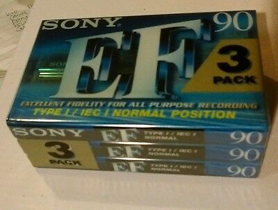 Sony EF 90 ... 3 pack