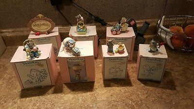 Midwest MouseKins Collectible Figurines - Lot of 7 Spring Related Figurines