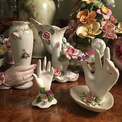 Beautiful Collection Of Vintage Hand Ornaments Figurines