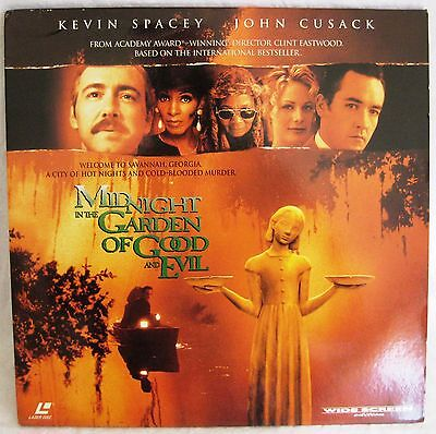 LASERDISC Midnight In The Garden Of Good & Evil -Cover creased, Discs Good to VG