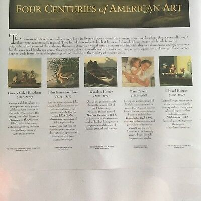 New For Centuries of American Art  Prints
