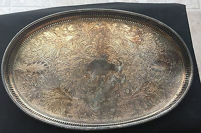 Reed & Barton Silverplate Tray Sheffield England #301