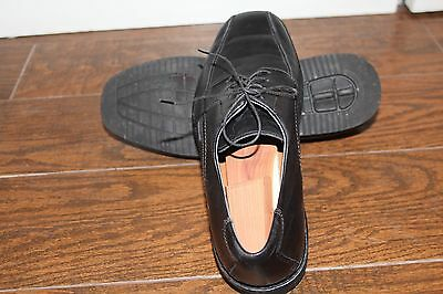 Mephisto Men Shoes Oxford Black Pre-Owned EU9.5/US10 In Great Condition