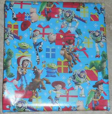 american greetings disney toy story christmas wrapping paper 20 sq ft folded