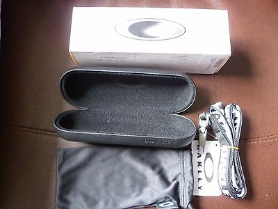 Oakley Spectacle Case and Lanyard