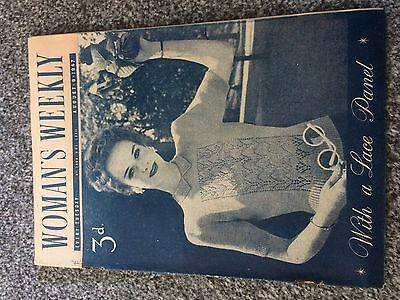Vintage original Woman's Weekly magazine Aug 9 1947 No1866 Vol LXXII 70yrs old!