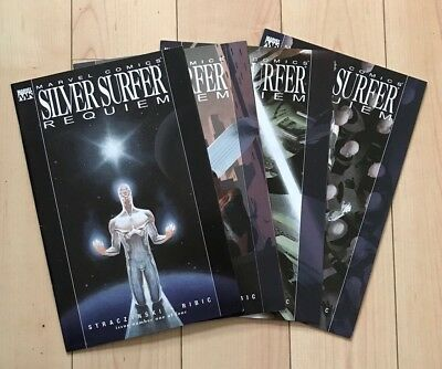 Marvel Knights - Silver Surfer Requiem Limited Series Nm 1-4 Full Set