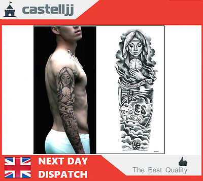 Temporary Tattoo Sticker Arm Fake Tattoos Long Lasting Body Decoration