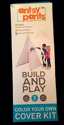 Antsy Pants Build And Play Color Your Own Cover Kit Small New In Box