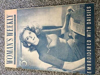 Vintage original Woman's Weekly magazine Sept 20 1947 No1872 Vol LXXII 70yrs old