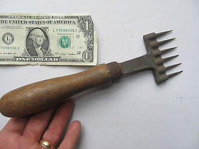 "Scarce Antique Victorian 1890 Ice Chopper, MARKED ""GILCHREST"",  Ice Box, Pick"