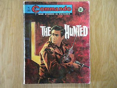 Commando War Comic Number 392 1969 Issue Rare Very Good For Age