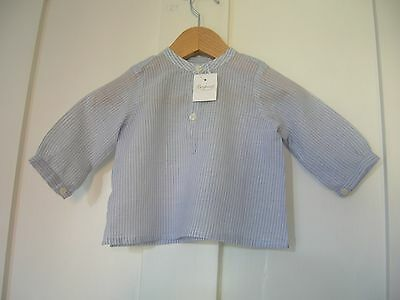 Brand New with Tags Bonpoint Baby Boys Shirt Top 3 months