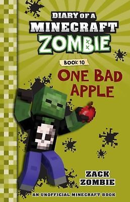 Diary of a Minecraft Zombie: #10 One Bad Apple by Zack Zombie Paperback Book