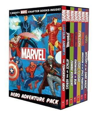 Mighty Marvel: Super Hero Box Set Paperback Book Free Shipping!