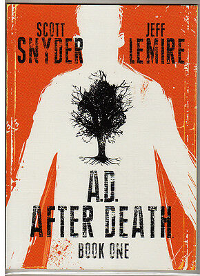 A.D. AFTER DEATH Book One; Snyder and Lemire; Near Mint.