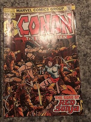 Conan The Barbarian Song Of Red Sonja