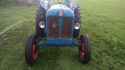 1960 Fordson Power Major Tractor And Topper