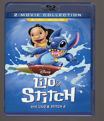 Lilo and Stitch: 2-Movie Collection (Blu-ray Disc, 2017)  Lilo & Stich 1 & 2
