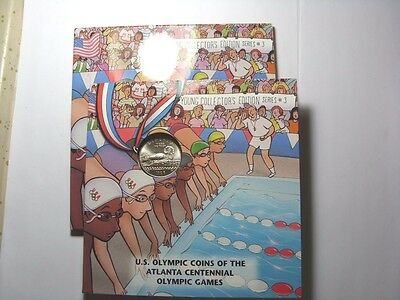 1996 S Uncirculated Swimming Young Collector Olympic Clad Half Dollar (31)