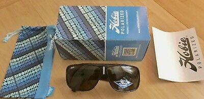 Hobie Brighton Polarized Sunglasses - Shiny Black Frame / Gray Lenses - NEW