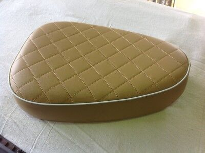 Seat Custom Low In Brown For Cub And Postie Bikes