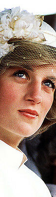PRINCESS DIANA Bookmark - 20 Years Gone - So Young & Innocent