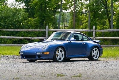 1997 Porsche 911 Carrera 2S 1997 Carrera 2S Manual Zenith Blue Metallic