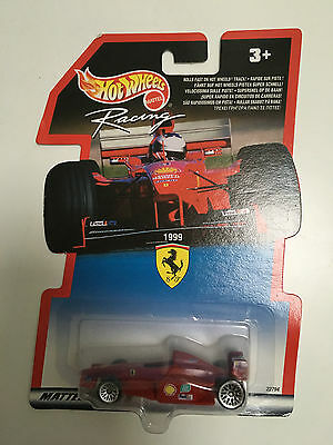 New 1999 RARE HOT WHEELS RACING CAR F1 SCUDERIA FERRARI Grand Prix  22794