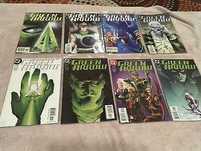 DC Green Arrow Lot (2001) #1, 5, 17-22 No Reserve