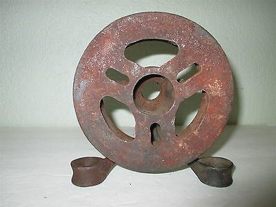 Vintage Babbitt Sprocket Rim New Bedford Ma #1 Steampunk Cnain Wheel !!!!